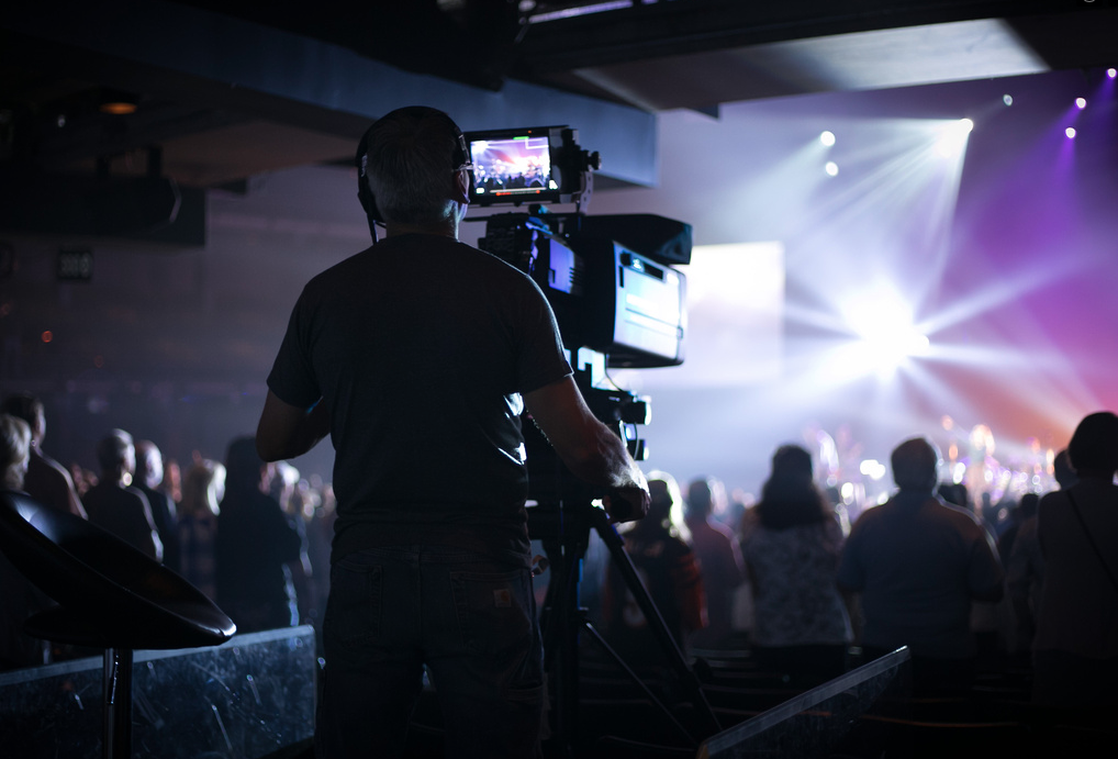 2016/11/24 CROSSROADS CHURCH DRIVES VIDEO PRODUCTION WITH  IKEGAMI HDK-95C/4K and HC-HD300 CAMERAS