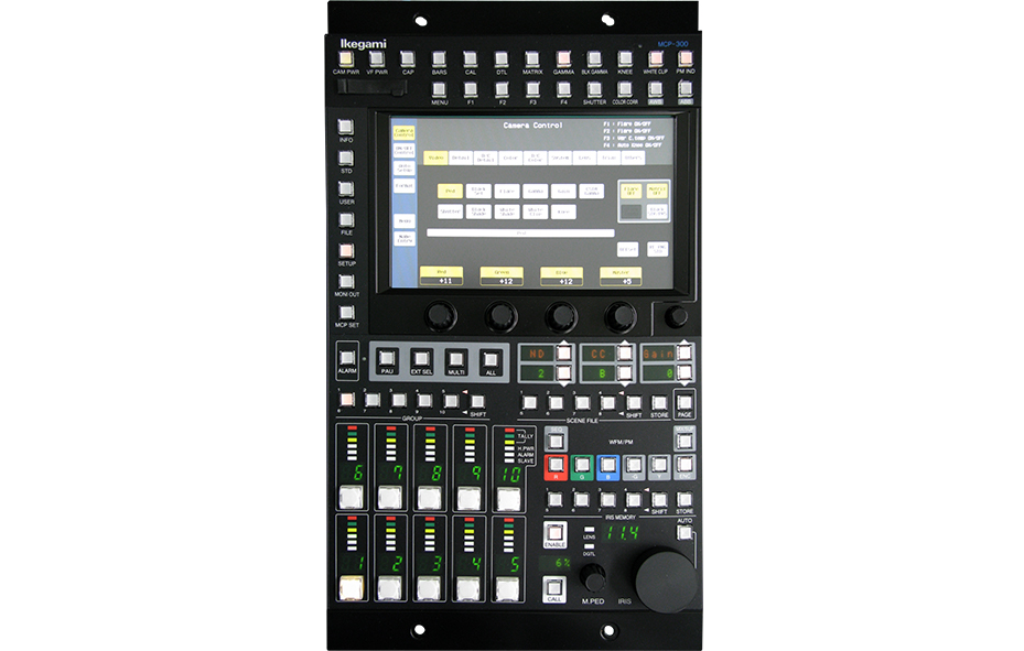 MCP-300<br> Network Master Control Panel